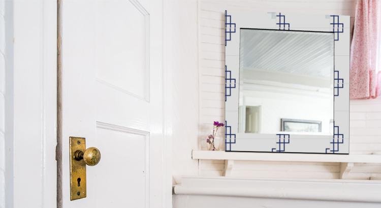 Espelho com Azulejos
