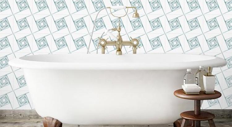Azulejos em Banheiro