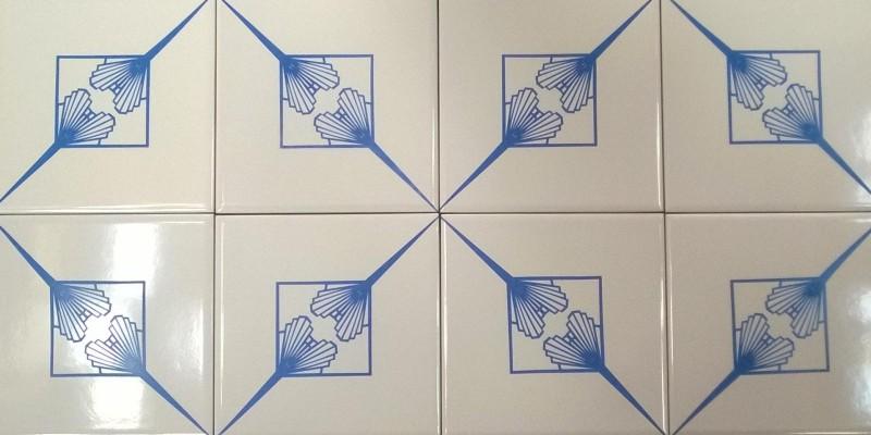 Azulejo Leque em 3 versões!