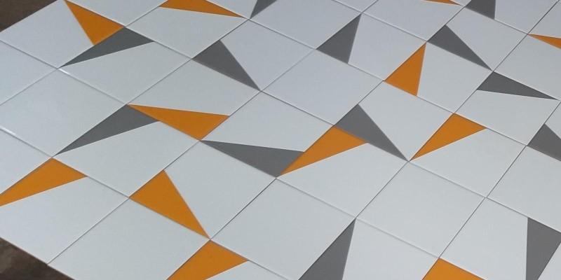 Novo Projeto com azulejos GEO