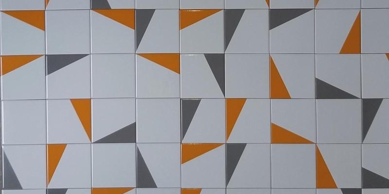 Montagens com azulejos Geo