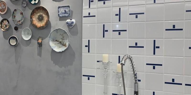 Área Gourmet com azulejos NEO