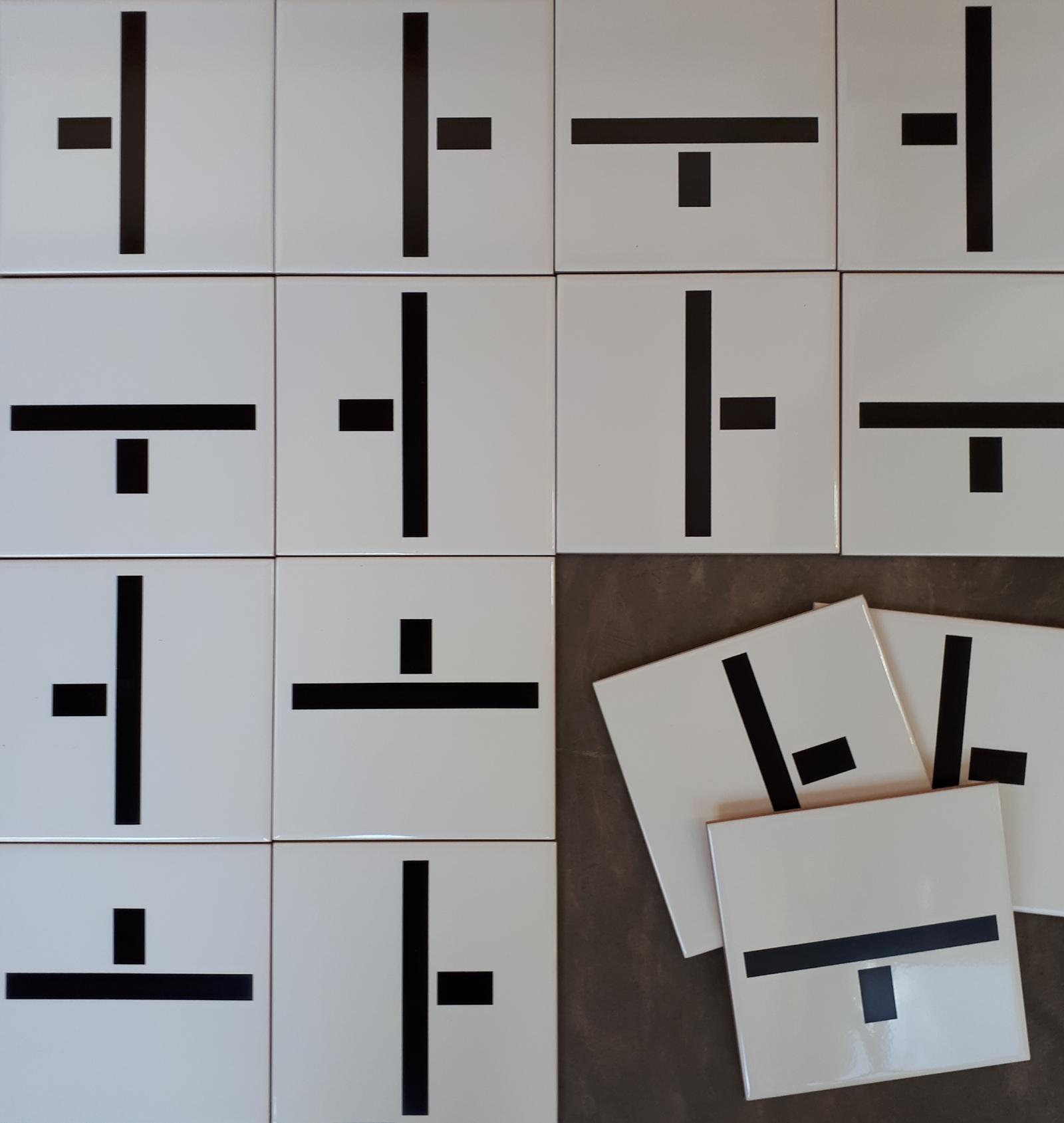 Montagens com azulejos NEO
