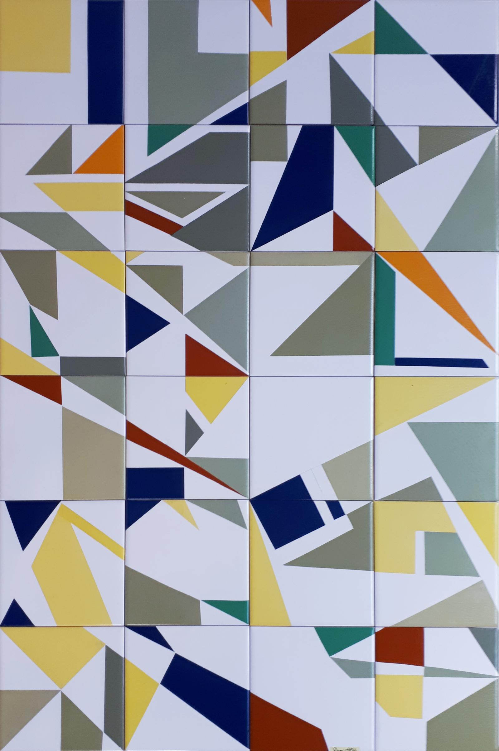 Painel de Azulejos Exclusivo e seu processo de fabricação